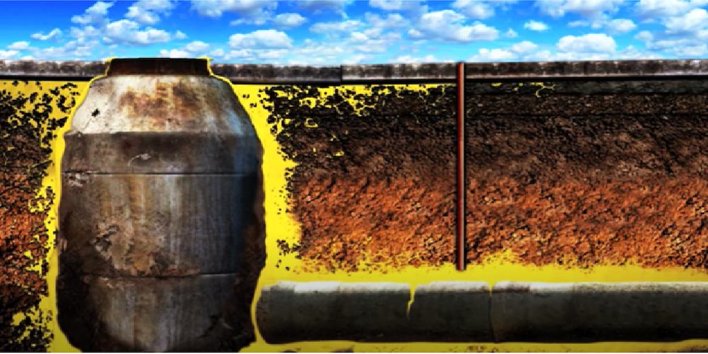 Sewerage water sealing
